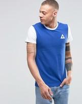 Le Coq Sportif Contrast Sleeve T-shirt