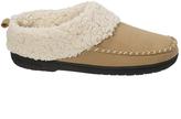 Dearfoams Desert Faux Fur-Collar Slipper