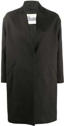Herno Rolled-Lapel Midi Coat