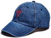 GUESS Factory Women's Denim Baseball Hat