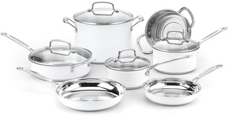 Cuisinart Chef's Classic Stainless Color Series 11-pc. Cookware Set