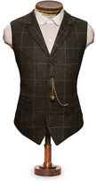 Ralph Lauren RRL Windowpane Wool Twill Vest