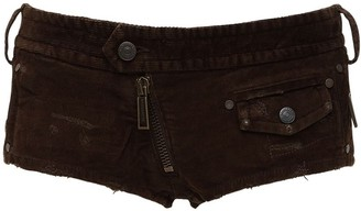 DSQUARED2 Cotton Corduroy Shorts