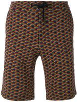 Marc Jacobs rainbow-print shorts - men - Cotton - XS