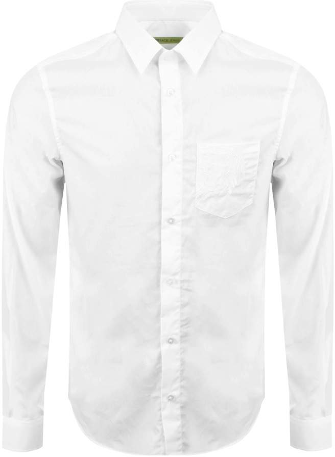Versace Pocket Shirt White