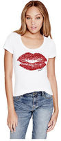 G by Guess GByGUESS Women's Pippa Kiss Tee