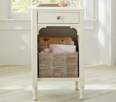 Pottery Barn Kids Juliette Nightstand, Vintage Simply White