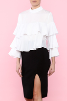 Lucy Paris Fun & Frilly Blouse