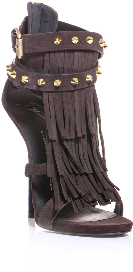 Giuseppe Zanotti African suede sandals