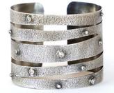 Irit Design - Sterling Silver and Diamond Cuff 375756683