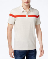 Michael Kors Men's Classic-Fit Single-Stripe Pima Cotton Polo