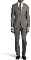 HUGO BOSS Hutson Micro-Houndstooth Two-Piece Suit, Dark Brown