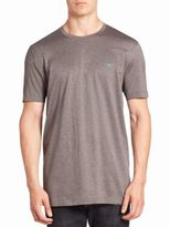 Salvatore Ferragamo Short Sleeves Cotton Tee