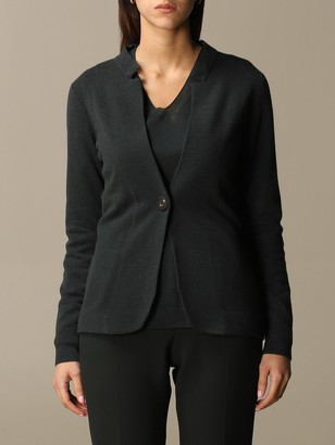 Peserico Jacket In Wool, Silk And Cashmere