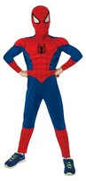 Marvel Spider-Man Boys' Muscle Chest Costume