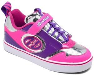 Heelys Big Girls Rocket X2 Wheeled Skate stay-put Closure Casual Sneakers from Finish Line