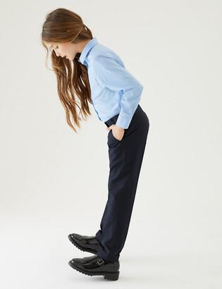 Marks and Spencer 2pk Girls' Slim Leg School Trousers