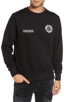Eleven Paris Men's Elevenparis Fleece Crewneck Sweatshirt