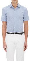 Etro Men's Gingham Cotton Poplin Shirt