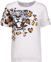 Sonia Rykiel Printed cotton-jersey T-shirt