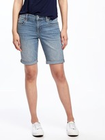 "Old Navy Skinny Denim Bermudas for Women (9"")"