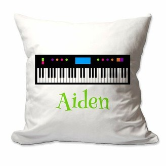 Zoomie Kids Ritchie Piano Keyboard Throw Pillow Cover Customize: Yes