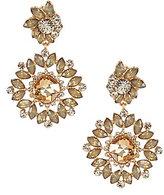 Natasha Accessories Flower Statement Drop Earrings