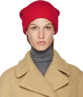 Stella McCartney Red Frills Beanie