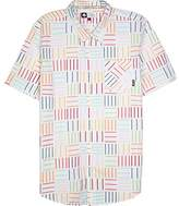 Lrg Men's Field Of Optics Short Sleeve Woven Shirt