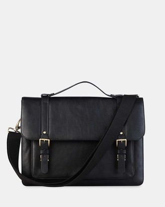Toffee Combi Leather Bag