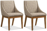 Set of 2 Dean Dining Chairs, Direct Ship