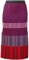 Proenza Schouler knitted pencil skirt - women - Silk/Cotton/Polyester/Viscose - XS