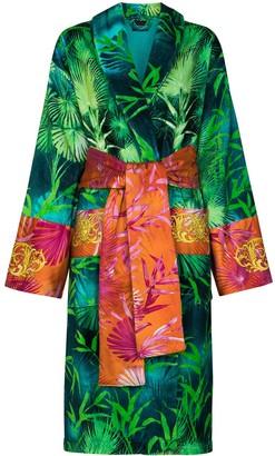 Versace Jungle Print Bath Robe