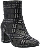 Thumbnail for your product : Impo Jarles Plaid Sequin Ankle Bootie