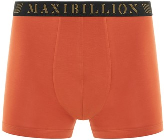 Maxibillion Geneva Modal Micro Air Boxer Brief Burnt Orange