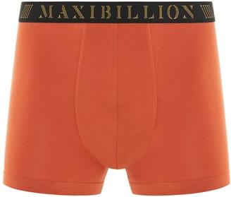 Maxibillion Geneva Modal Micro Air Boxer Brief Burnt Orange