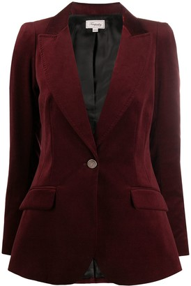 Temperley London Tailored Velvet Blazer
