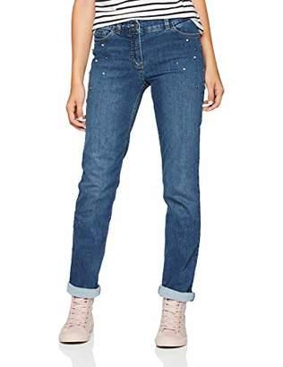 Gerry Weber Women's Hose Jeans Lang Straight,W38/L32 (Size: 38R)
