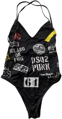 DSQUARED2 Black Lycra Swimwear for Women