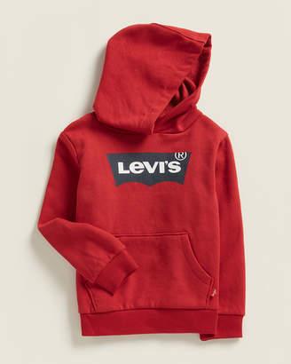 Levi's Toddler Boys) Chili Pepper Batwing Logo Fleece Hoodie