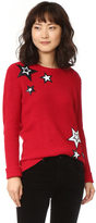 Rebecca Minkoff Prim Sweater with Sequin Stars