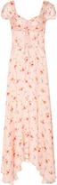 Jill Stuart Cecilia Floral Maxi Dress
