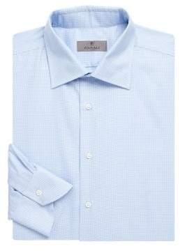 Canali Geo Cotton Dress Shirt