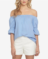 1 STATE 1.STATE Striped Off-The-Shoulder Top