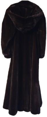 Karl Lagerfeld Paris Black Mink Coat for Women
