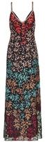 Missoni Silk leaf embroidered dress