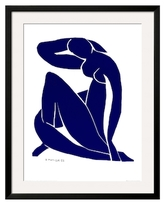 Blue Nude II by Henri Matisse (Framed)