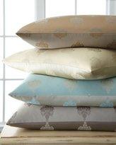 "Fino Lino Linen & Lace Charleston Medallion Pillow, 16"" x 23"""