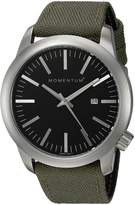 Momentum Men's 1M-SP10B6G Logic Analog Display Japanese Quartz Green Watch