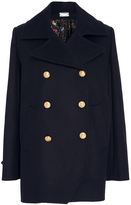 Alexis Mabille Wool Cashmere Peacoat
